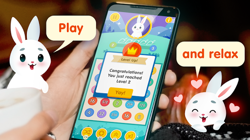 Bunny Connect: Match Colours, Numbers & Bubbles screenshot 1