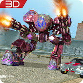 Mech Shooter Transform Hero 3D
