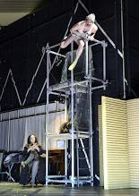 """Photo: WIEN/ Theater in der Josefstadt: """"Totes Gebirge"""" von Thomas Arzt. Inszenierung: Stephanie Mohr. Premiere am 21.1.2016. Susa Mayer,  Roman Schmelzer.. Copyright: Barbara Zeininger"""