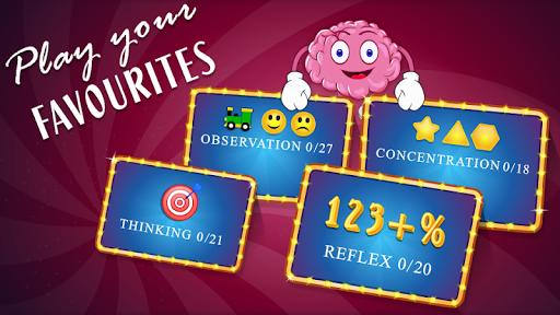 brain games mind iq test - trivia quiz memory screenshot 3