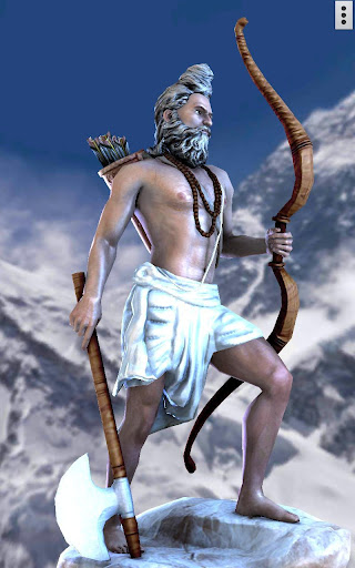 3D Parshuram Live Wallpaper