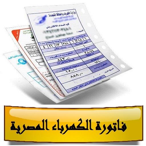 فاتورة الكهرباء المصرية