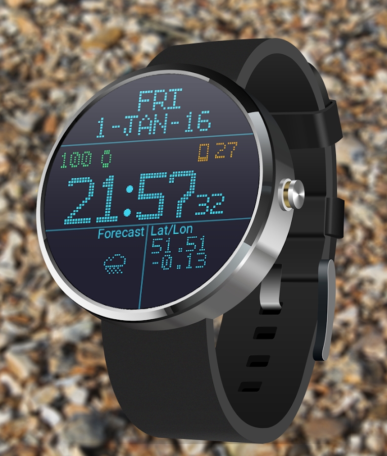 LED Watch face with Weather - Android Apps on Google Play