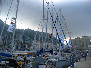 Photo: Gibraltar Marina.