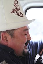 Photo: Tradicinis kirgizų galvos apdangalas - Ak Kalpak.   Traditional Kyrgyz head wear - Ak Kalpak