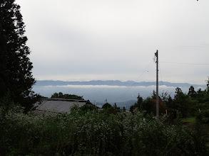 佐倉公園 第二駐車場からの眺め