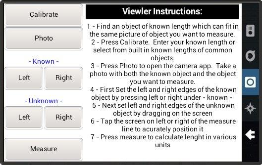 Viewlers Free Digital Ruler- screenshot