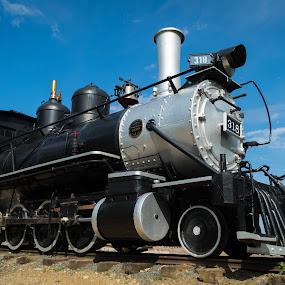 318 by Logan Knowles - Transportation Trains ( train tracks, old, steam train, train, museum )