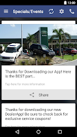 Screenshot of Land Rover Palm Beach
