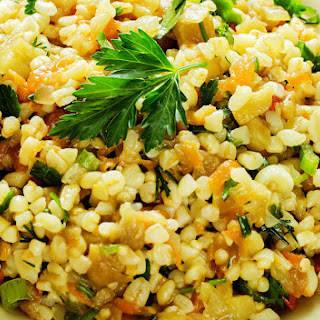 Wild Rice & Bulgur Stuffing.