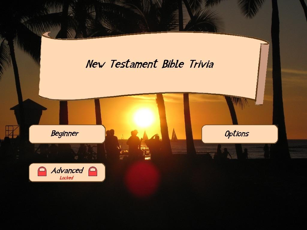 What are New Testament Bible trivia questions with the answers?