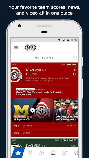 FOX Sports Mobile Screenshot