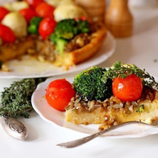 Pie With Lentils And Vegetables