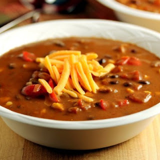 Weight Watchers South-of-the-Border Bean and Chicken Soup