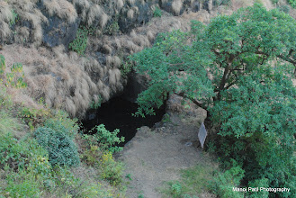 Photo: Water source on Makrand gad....