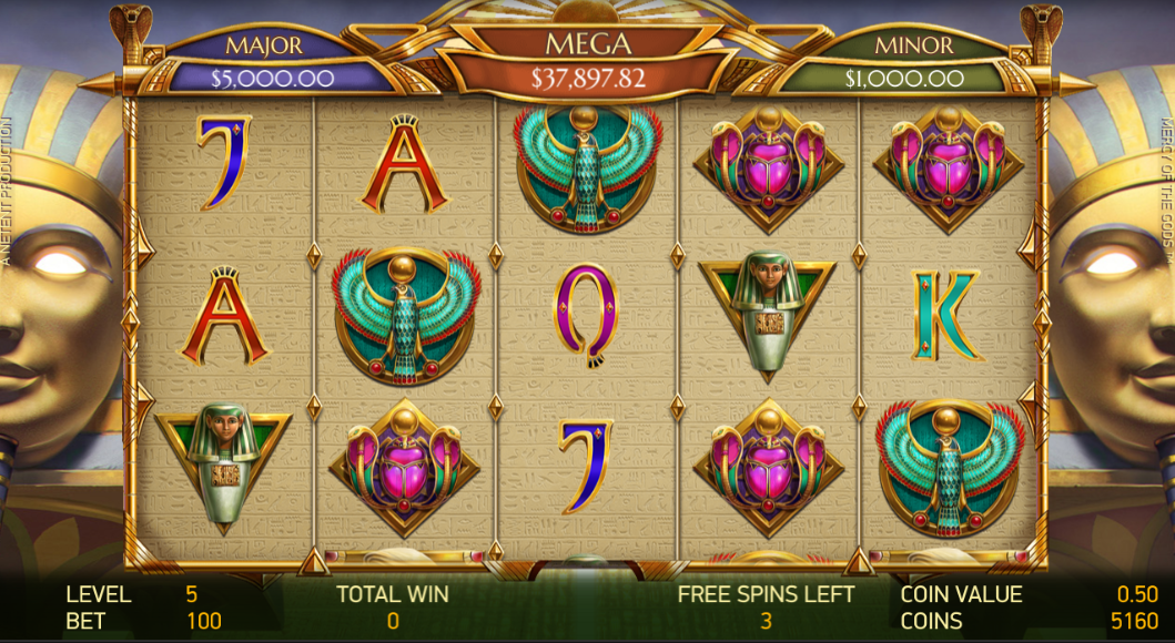 Mercy of the Gods free spins