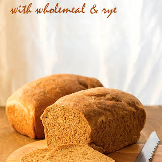 Sandwich Bread With Wholemeal & Rye.