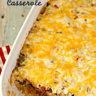 John Wayne Casserole (Beef and Biscuit Casserole) Recipe