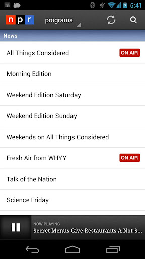 NPR News 2.7.5 screenshots 6