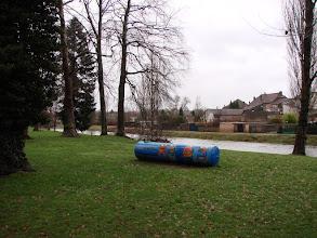 Photo: dans le parc de Baccarat
