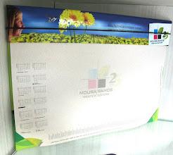 Photo: Risca Rabisca com elástico - Folhas temáticas e com régua e calendário impressos.