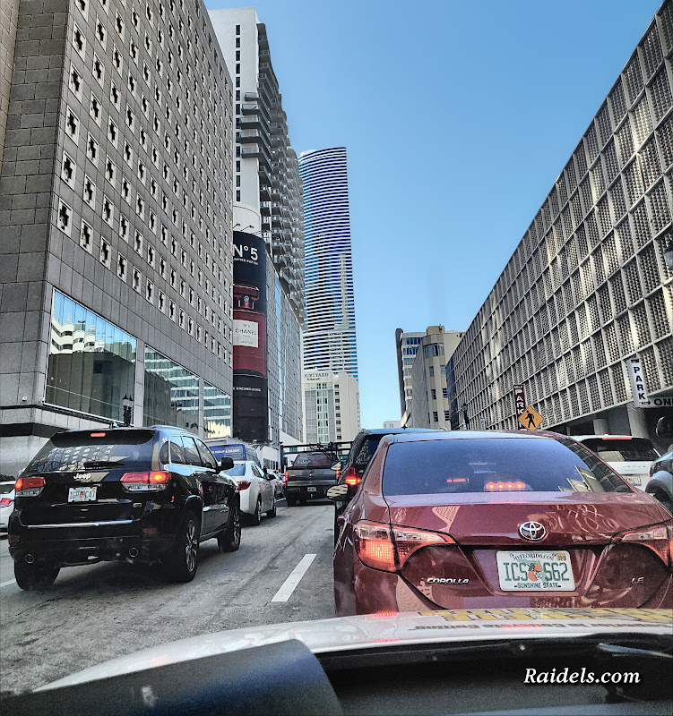 Downtown Miami Traffic