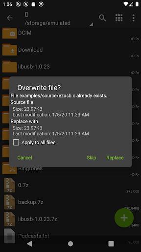ZArchiver  screenshots 3