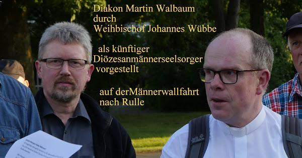 Martin Walbaum wird Diözesanmännerseelsorger