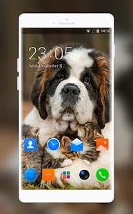 Theme for Nokia 220 Dual SIM Pets Wallpaper - náhled
