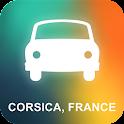Corsica, France GPS Navigation icon