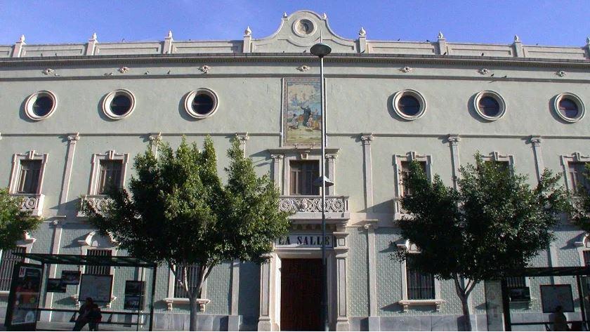 Fachada del colegio de La Salle ubicado en la Rambla