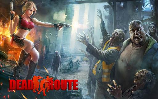 Dead Route: Zombie Apocalypse apkpoly screenshots 1