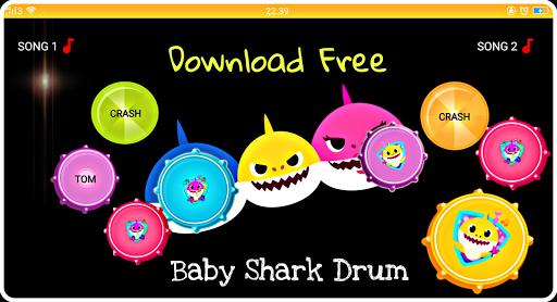 Drum Baby Shark 1.0 screenshots 3