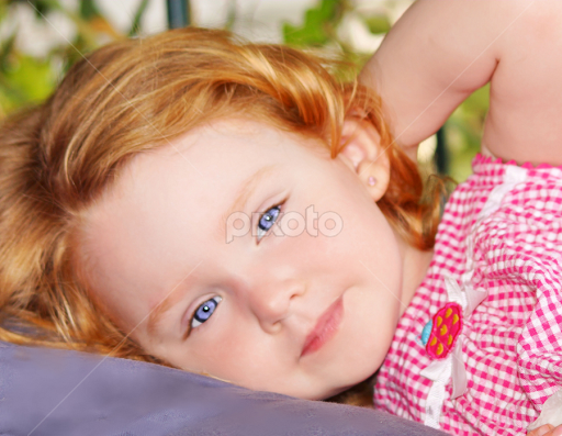 Red Headed Toddler