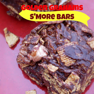 Golden Grahams S'more Bars