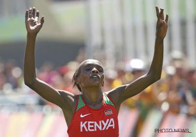 Keniaanse wint de marathon bij de vrouwen, Dejaeghere beste Belgische