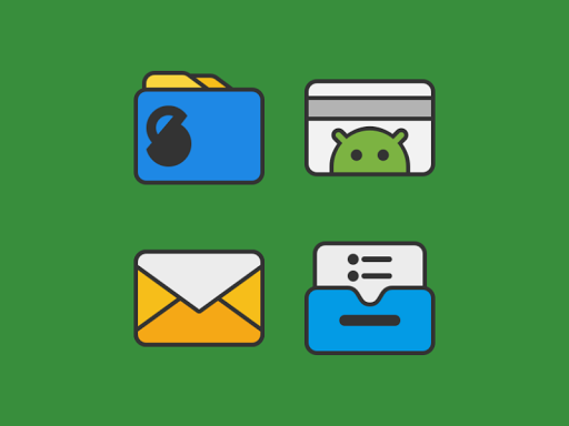 Screenshot for DARKMATTER - ICON PACK in Hong Kong Play Store