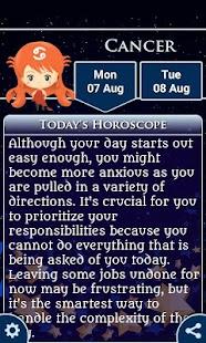 Cancer ♋ Horoscope Daily - Your Zodiac Sign 2018 - náhled