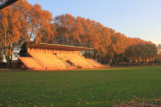 Photo: Stott Field looking towards the CO Medworth Stand
