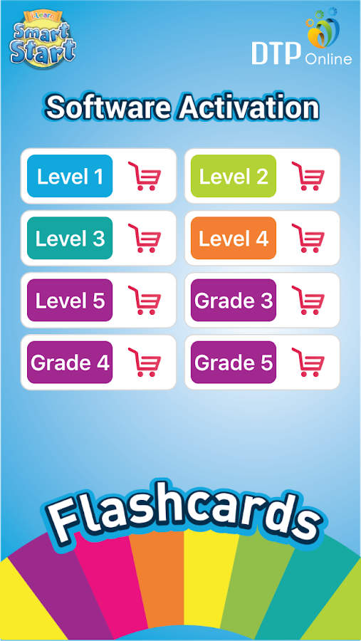 Flashcards for i-Learn Smart Start- screenshot
