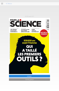 Pour la Science- screenshot thumbnail