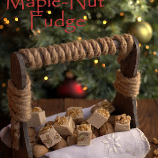 Sugar Free Maple Nut Fudge