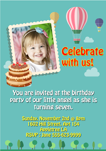 Birthday Greeting Cards Maker Android Apps On Google Play - App for birthday invitation
