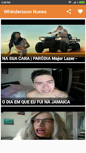 Whindersson Nunes(whinderssonnunes) Memes Criador - náhled