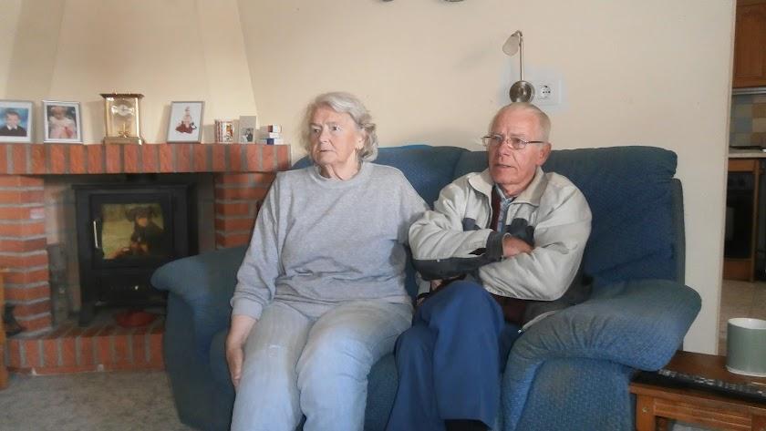 El matrimonio Smith usaba un generador para poder calentarse. Foto de 2015.