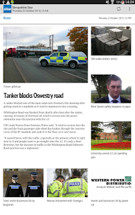 Shropshire Star News App- screenshot thumbnail