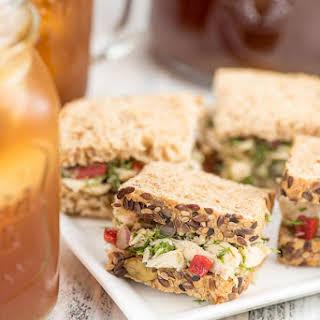 Tuscan Tuna Tea Sandwiches.