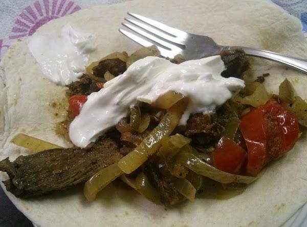 Leftover-steak Steak Fajitas Recipe