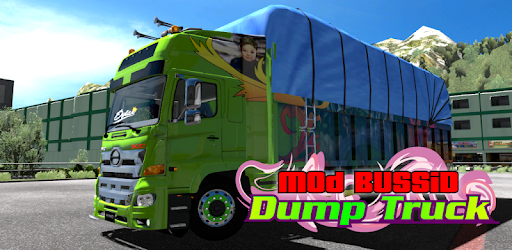 Mod BUSSID Dump Truck - by Giant Livery - Art & Design Category