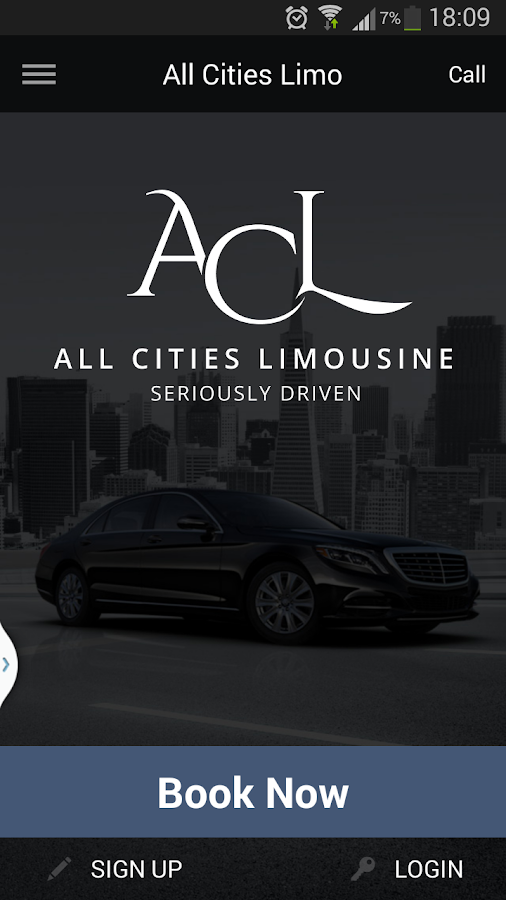 All Cities Limo- screenshot